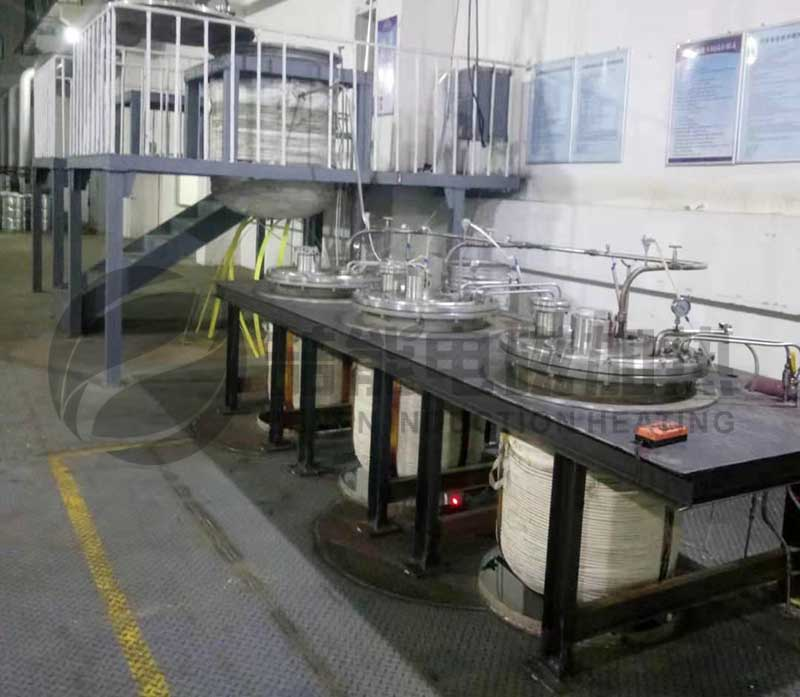 电磁加热不锈钢反应釜