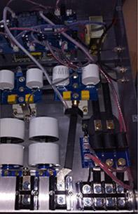 电磁采暖控制器内部