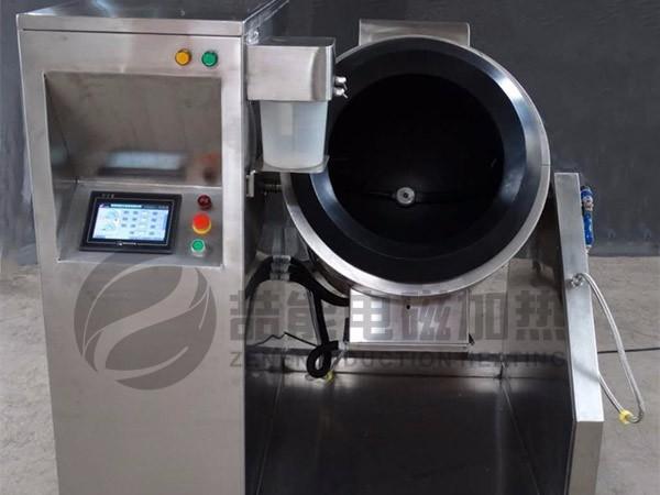 智能炒菜机不锈钢电磁加热控制器