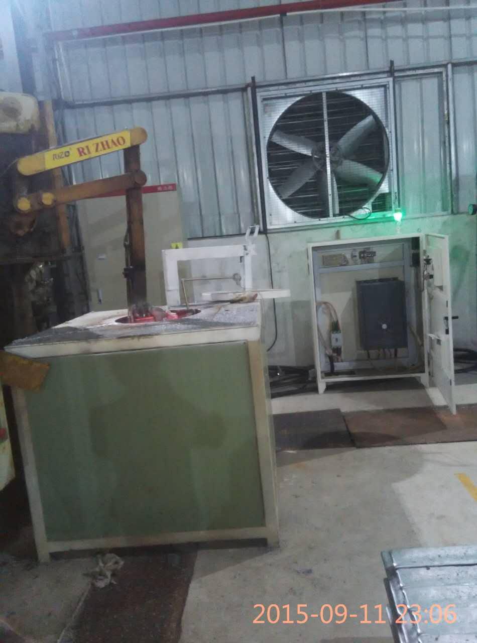 铝合金熔保炉