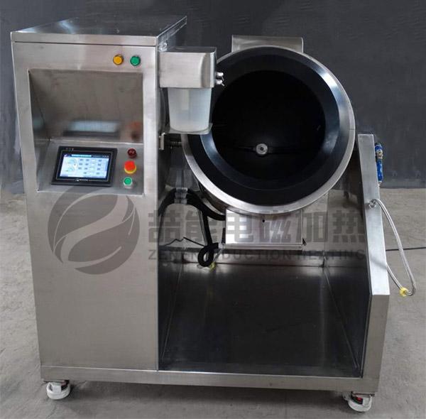 电磁加热器炒货机