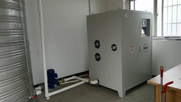 电磁加热采暖炉