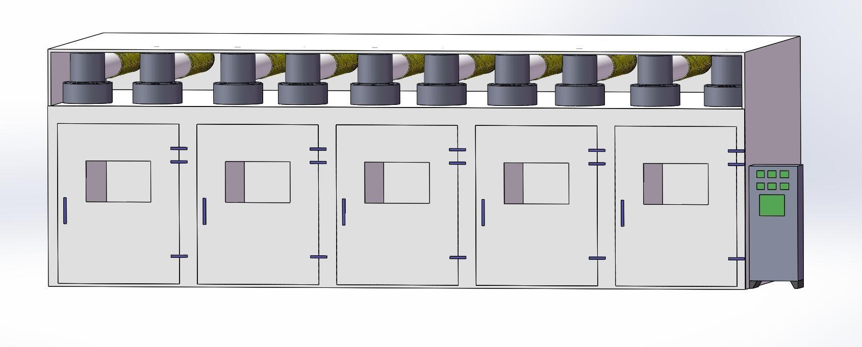 电磁烘烤机房设计图