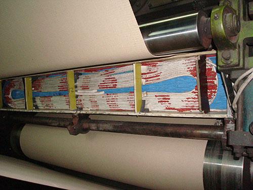 造纸应用电磁加热