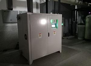 温泉酒店的电磁变频热水/供暖/恒温项目案例