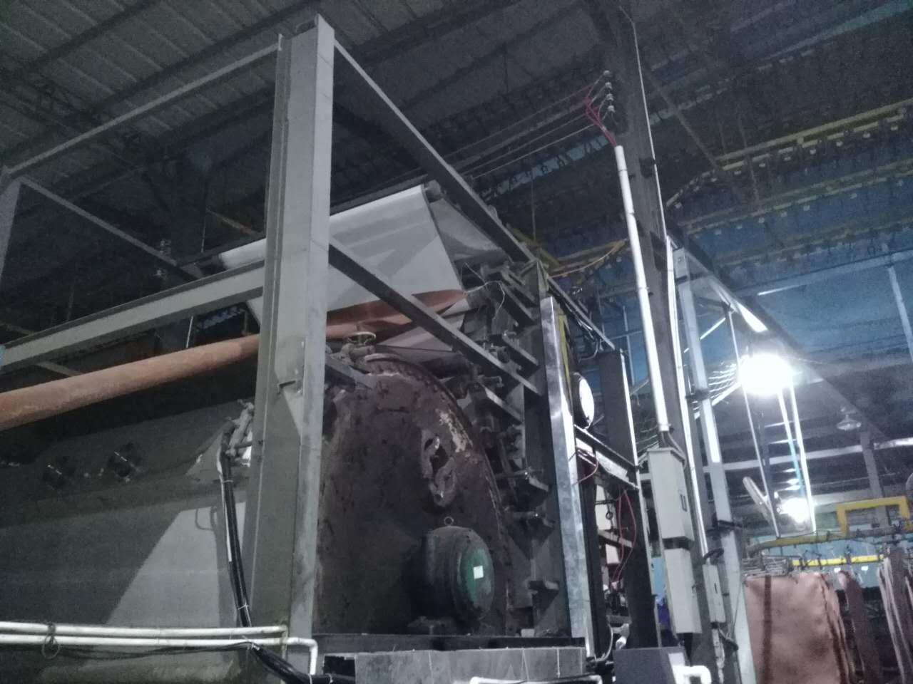 电磁加热再生造纸机