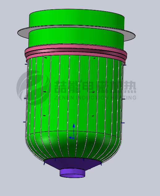 反应釜电磁加热结构