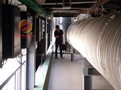 废弃物处理改造——不锈钢管道电磁加热
