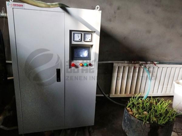 电磁锅炉的散热系统如何安装?