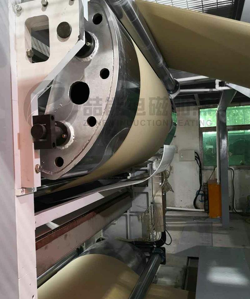 造纸机械电磁加热案例
