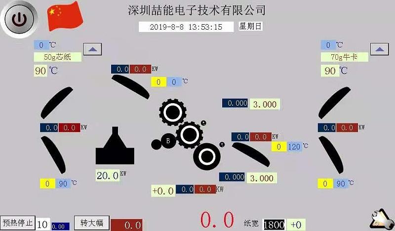 标准化电磁加热应用的用电数据和功率型号选择表格