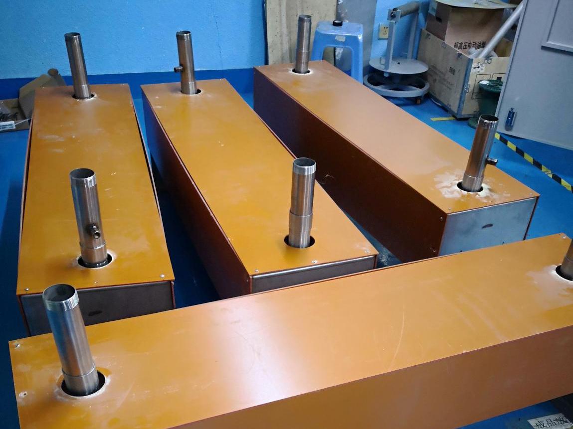 无锡电磁热水设备定制30KW*4台