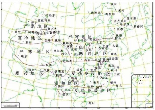 地区分布图