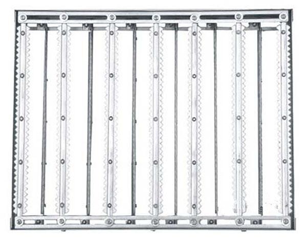 玻璃钢化架白色