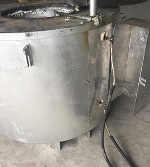 电磁感应熔铝炉1