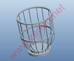 杯型感应结构设计