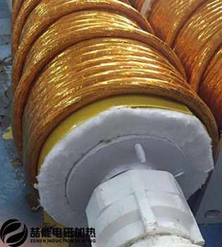 电磁加热线圈+保温棉