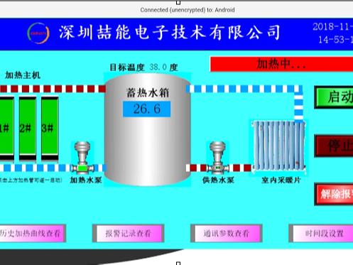 智能电磁供暖炉:喆能电磁率先迈入WIFI物联网时代