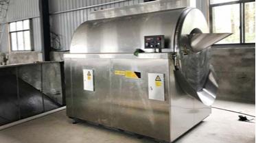不锈钢炒货机解决方案