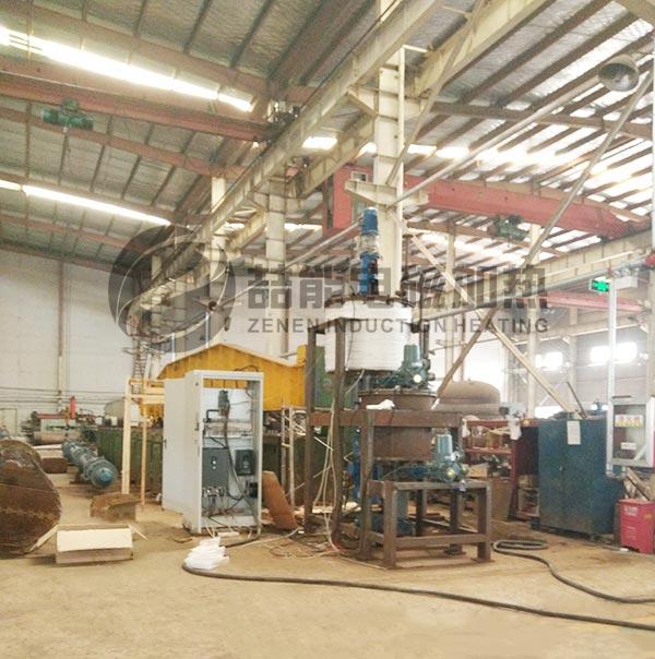 电磁加热炼油设备改造