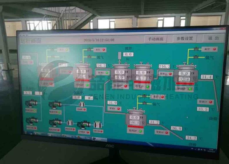 316不锈钢反应釜电磁加热